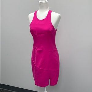 Amanda Uprichard Neon Pink dress size S